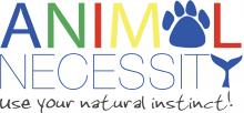 A logo for Animal Necessity