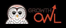 A logo for Growth Owl, LLC